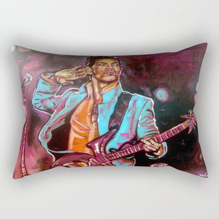 Purple Funk Rectangular Pillow