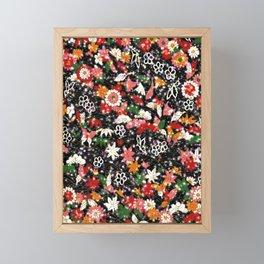 Japanese pattern 76 Framed Mini Art Print