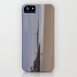 Twin Lights at Good Harbor beach iPhone Case