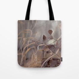 Soft Grass & Leaves Tote Bag