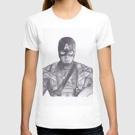 Captain comic America T-shirt
