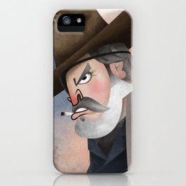 Rooster Cogburn iPhone Case