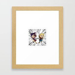 GTFO Chibi Attack!! Framed Art Print