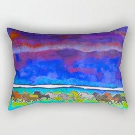 Sky Ponies #31 Rectangular Pillow