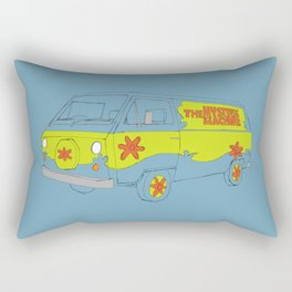 The Mystery Machine Rectangular Pillow