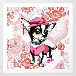 doggy style Art Print