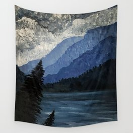 Stormy Straits Wall Tapestry