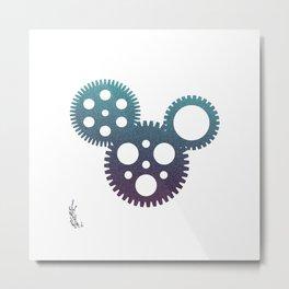 mickey mouse mechanisms Metal Print