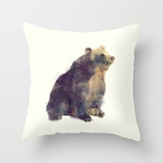 Bear // Nova Throw Pillow