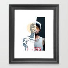 Mitades #01 Framed Art Print