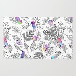Roses and Crystals Rug