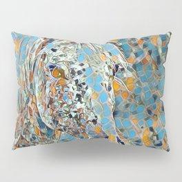Mosaic Horse Pillow Sham