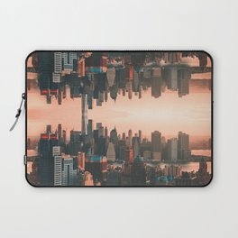 New York City Skyline Surreal Laptop Sleeve