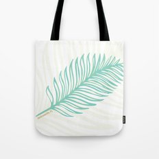Jacksonville, Florida Palm Leaf Tote Bag