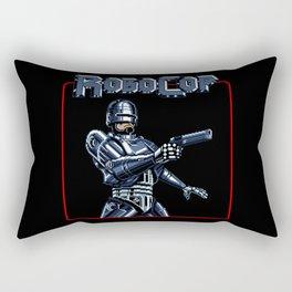 Robocop 8bit Rectangular Pillow