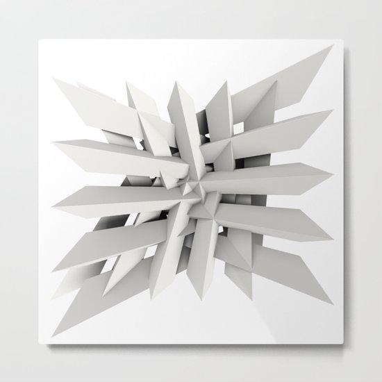 Uxitol (Struggle) large print option Metal Print