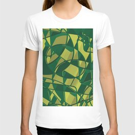 3D Abstract Futuristic Background X. 16 T-shirt