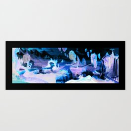 Fantastical Landscape Art Print
