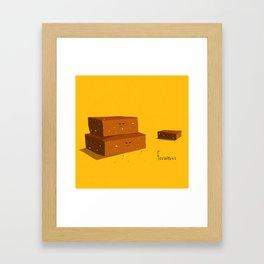 frownies Framed Art Print
