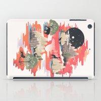 dreams iPad Cases featuring Landscape of Dreams by dan elijah g. fajardo