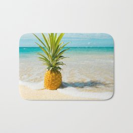 Pineapple Beach Bath Mat