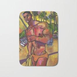 Guayacanes: Jeison in a Speedo Bath Mat