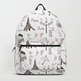 Paris Girl Backpack
