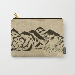 Sleepy Bear Mountain Carry-All Pouch