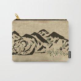 Sleepy Bear Mountain Carry-All Pouch