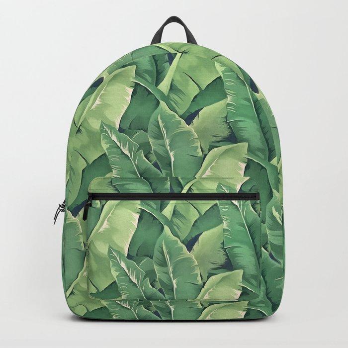 Banana leaves IV Backpack