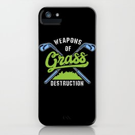 Golfing iPhone Case