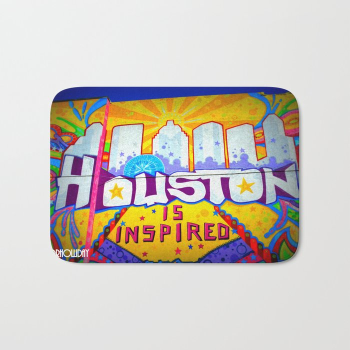 Houston is Inspired Bath Mat