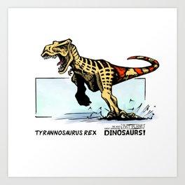 Dinosaur - Tyrannosaurus Rex Art Print