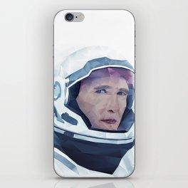 Interstellar Low Poly Poster iPhone Skin