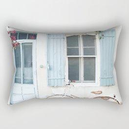 Pastel house Rectangular Pillow