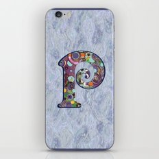 The Letter P iPhone & iPod Skin
