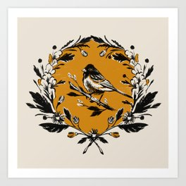 Summer Bird Art Print