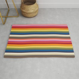 Stripes | Pantone Fashion Colors 2019 | New York | Rug