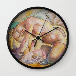 The Awakening of the Civet Wall Clock