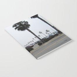 Foggy Californian beach Notebook