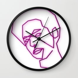Sprouse Wall Clock