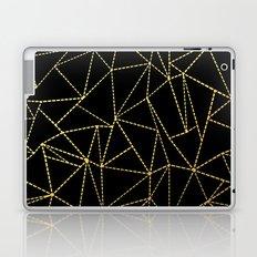 Ab Dotted Gold Laptop & iPad Skin