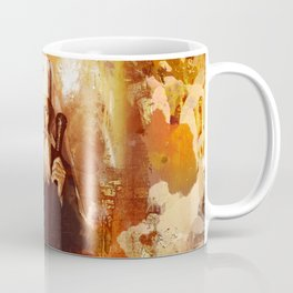 Patrijarh Pavle - Gojko Stojcevic - Mixed Media Coffee Mug