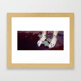 Dance me Framed Art Print