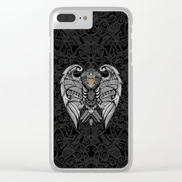 Aztec Pattern Ravenclaw Eagle Logo iPhone 4 4s 5 5s 5c, ipod, ipad, pillow case and tshirt Clear iPhone Case