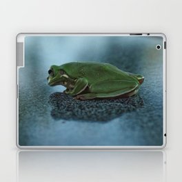 Green Frog Laptop & iPad Skin