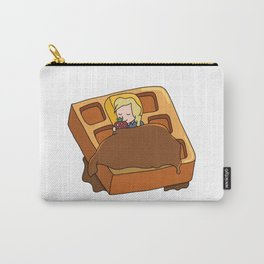 Leslie Knope + Giant Waffle Carry-All Pouch