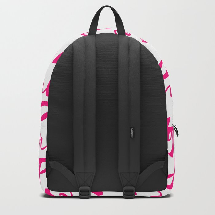 Pink Backpack