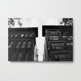 City Alleys Metal Print