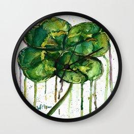 Run O' Luck Wall Clock